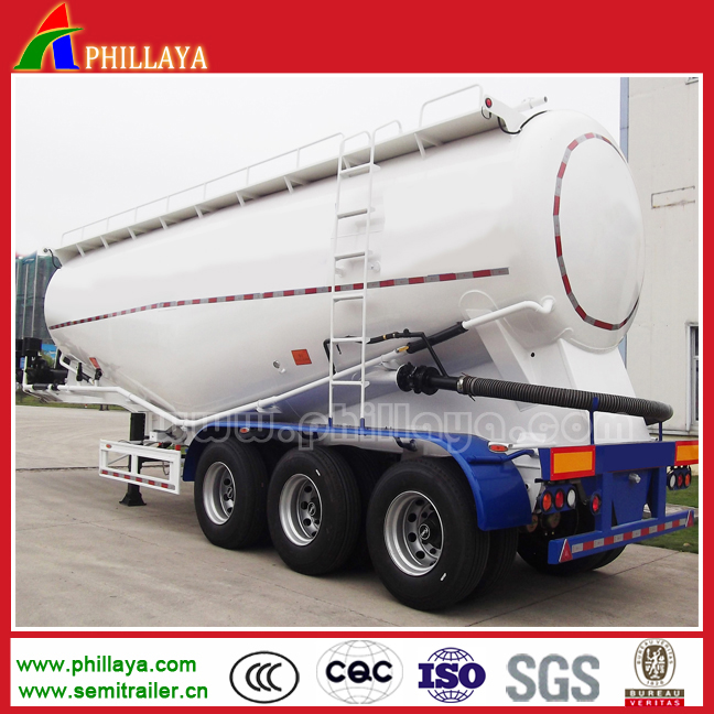 2017 new Heavy duty 3 axles used bulk cement trailer, bulk cement silo truck trailer