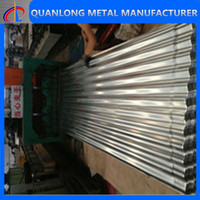 HOT supply Corrugated roofing sheet/zinc aluminum roofing sheet/metal roof