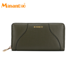 MINANDIO Fashion brand designer design evening clutch bag for office ladies party time elegant woman wallet purse