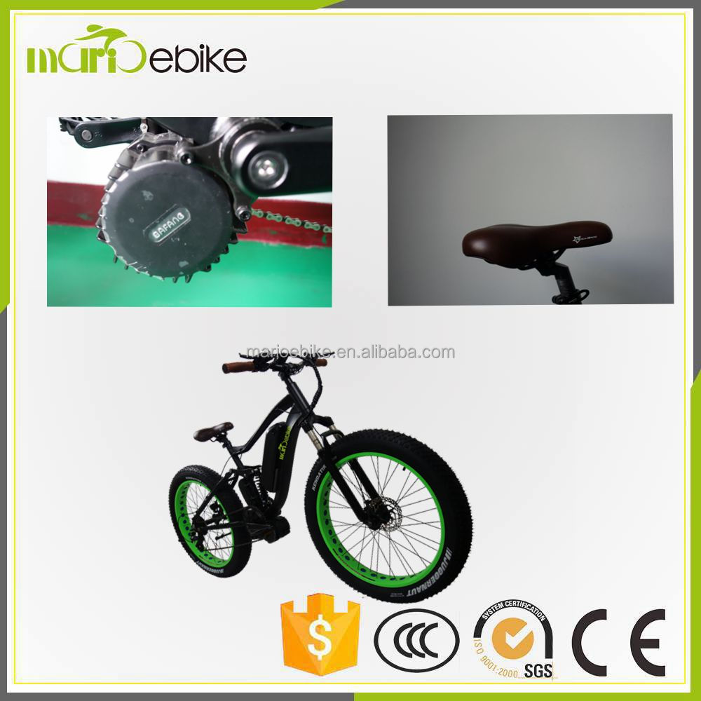 Road Electric Mountain Bike Fat Tire Electric bicycle with 1000W 8 Fun Motor