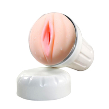 Hot Selling Sex Toys Artificial Pussy Pure white cup for Man,Male Masturbation Device