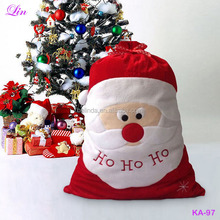 Free Shipping by DHL/FEDEX/S Decoration Santa Big Gift bags
