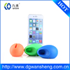 egg shape silicone mobile phone Loudspeaker/phone stand/silicone amplifier