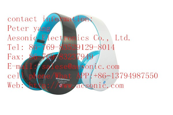 Rohs standard promotion smart headphone mobile accessories