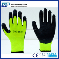 YELLOW POLAR PENGUIN Freezer Work Gloves For Cold Weather