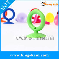 silicone ring suction cup holder, silicone suction holder for mobilep phone