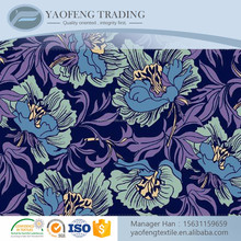 Free sample custom printed 60s cotton rayon fabric for sale