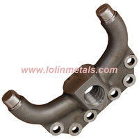 Forged and machined steel parts for automobile industry