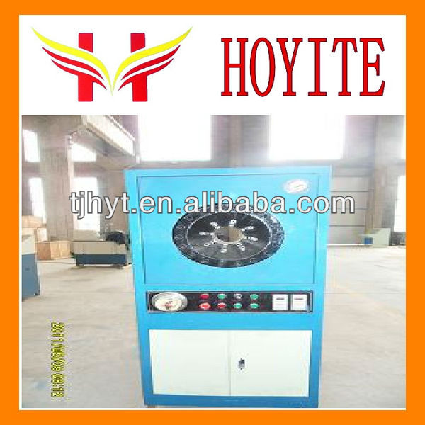 HYT102 China lowest price 4 inch high pressure hose crimping machine