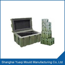 Customize Plastic Roto Mould Portable Storage Case