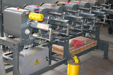 Multi working positions jute yarn bobbin rewinding machine from Haidai industrial