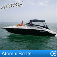 8m fiberglass leisure boat (7500 Sports cruiser)