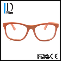 2016 hot sell wood spectacle frames, fashion wooden eyeglasses made in China