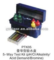 swimming pool cleaner equipment, pool water test kit