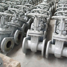cast steel valve rising stem gost gate valve pn16 for oil and gas manufacturer