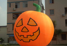 Hot sale giant halloween decoration, promotion inflatable pumpkin