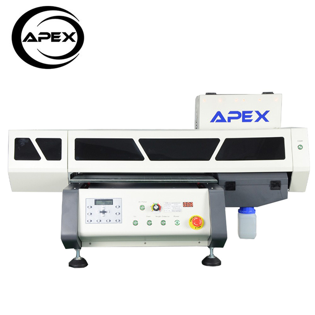Apex UV 4060 Digital Flatbed UV Printer Desktop A2 size printer UV Led Printer
