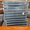 Industry warehouse galvanized welded wire mesh pallet cage