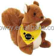 animal crossing plush squirrel custom stuffed animals plush squirrel with logo imprinted