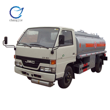 Good condition new type JMC 1000-5000L fuel tanker truck price
