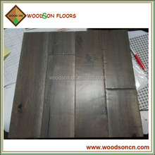 Handscraped Black Walnut Solid Big Leaf Acacia Flooring