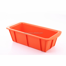 oblong silicone toast mould rectangle rubber silicone loaf pan rectangular cake pan liner for microwave cake