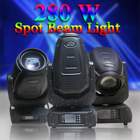 best price 280w beam spot wash 3in1 color change moving head sharpy light