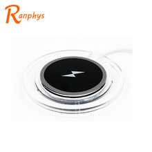 Ranphys high quality cell phone mini qi mobile wireless charger,portable charger wireless charger for samsung qi
