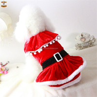 Pretty Princess Dresses for Dog Christmas Outfits Winter Dog Clothes