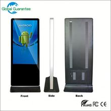 Floor standing 22inch android digital signage playe with global guarantee