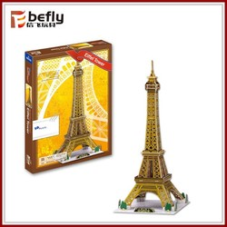 Shantou educational toy 3d diy building puzzle