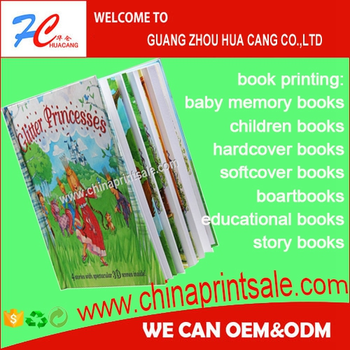 cheap price with different size custom comic children hardcover books printing service for valued memory records