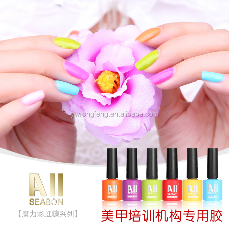 Top selling OEM brand cheap gel nail polish in China