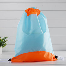 210D polyester cloth drawstring shoe bag