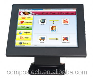Eco Friendly Compos EHM10 LED display Monitor industrial LCD monitor led monitor for financial service