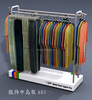 Metal display gondola rack for clothes, Metal display shelving system, display fixtures for garments