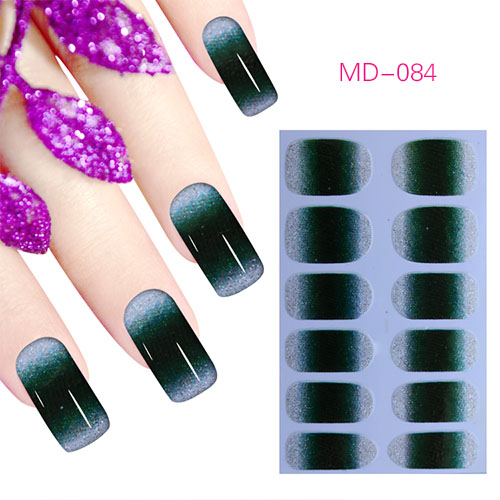 Popular factory 3d nail sticker for nail art