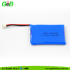 High discharge rate 503048 3.7V 650mAh 2C rechargeable battery packed with blue PVE