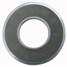 High porosity SPL filter disc for oil lubrication equipment