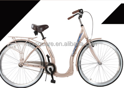 28 inch steel frame urban bike lady bicycle