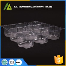 wholesale clear blister plastic round cake box bakery packaging