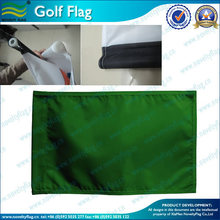 golf flag embroidered on pure color