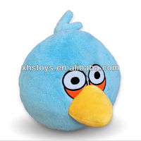 cute blue bird plush toy