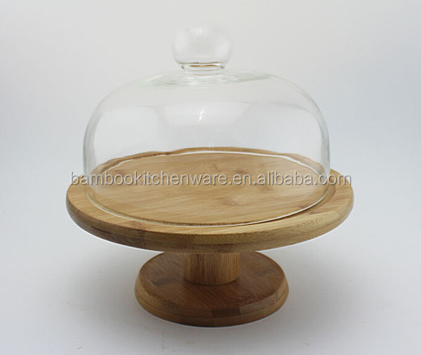 Eco friendly bamboo cheese holder