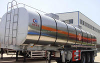 High quality oil semi trailer/tanker truck/gas tank lorry transportation