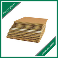 CUSTOM ORDER CHEAP CORRUGATED BROWN PAPER BOARD WITH PRINTING