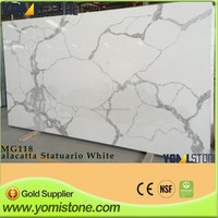 Hot Sale Artificial Carrara White Quartz