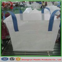 One tonne bulk bag top open for sand , 1000kg cement bags jumbo size with top spout