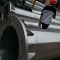 steel galvanized metalic pole manufacturers monopole