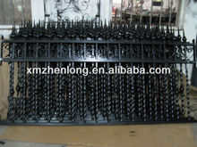 Wrought Iron Estate Fencing